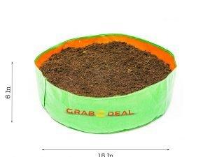 Round spinach 15x6 Grow bag