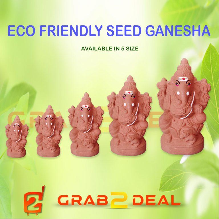 eco friendly seed ganesha - grab2deal